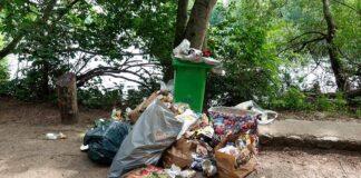 Müll Schlachtensee