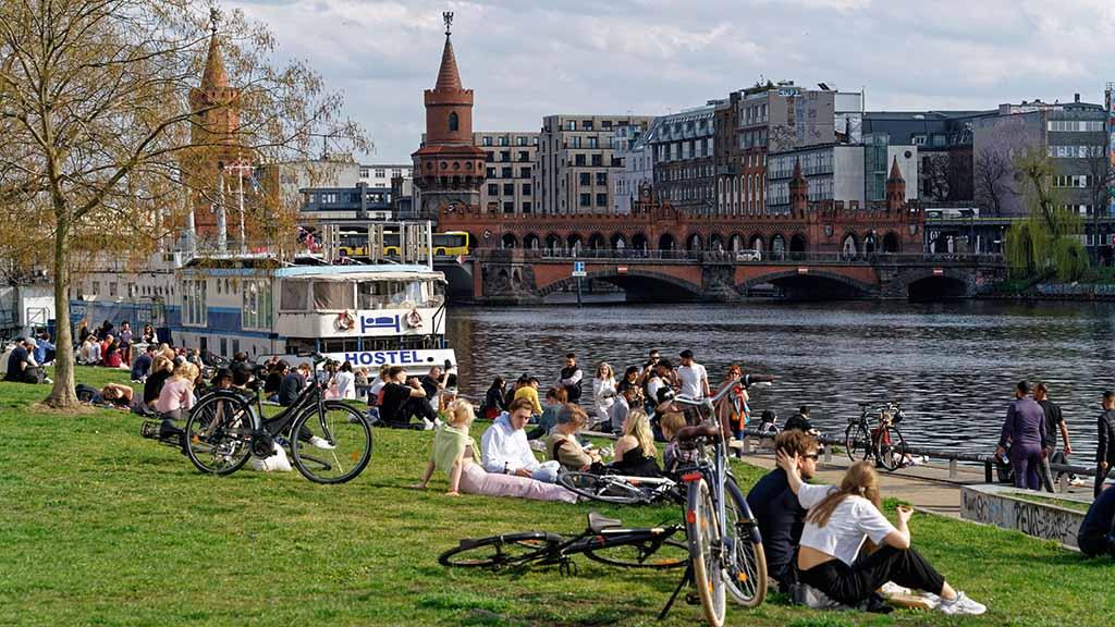 Freie Ufer für alle in Berlin
