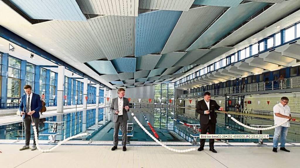 Marzahn: Schwimmen auf exakt 50 Metern