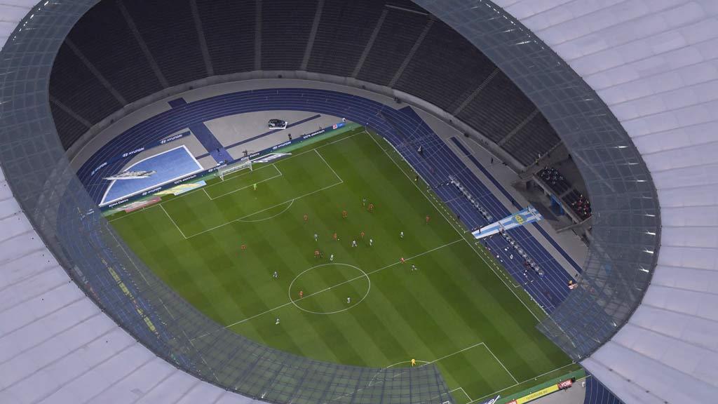 Union spielt seine Euro-Matches im Olympiastadion