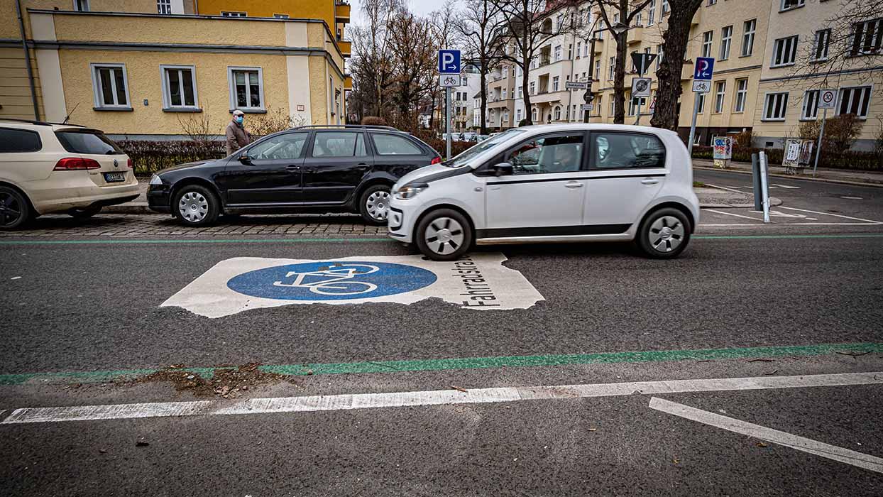 Stargarder Straße wird Fahrradstraße