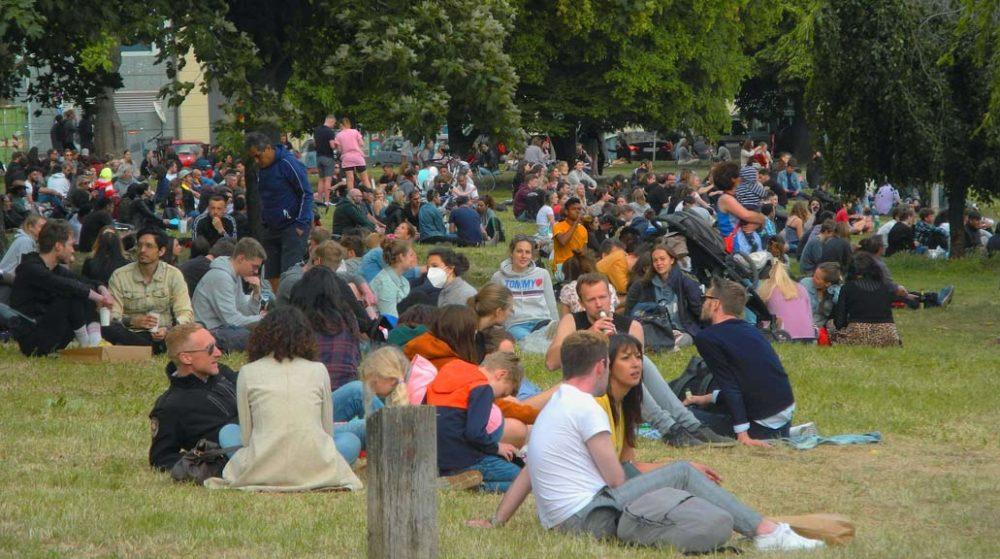 Berliner Parks werden zu Problemzonen
