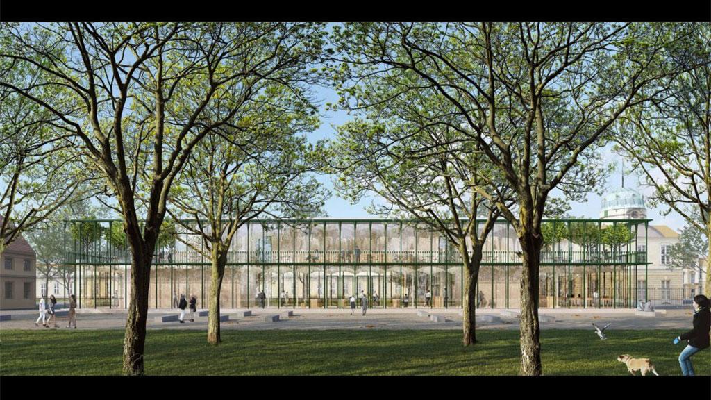 Schloss Charlottenburg bekommt gläsernes Besucherzentrum