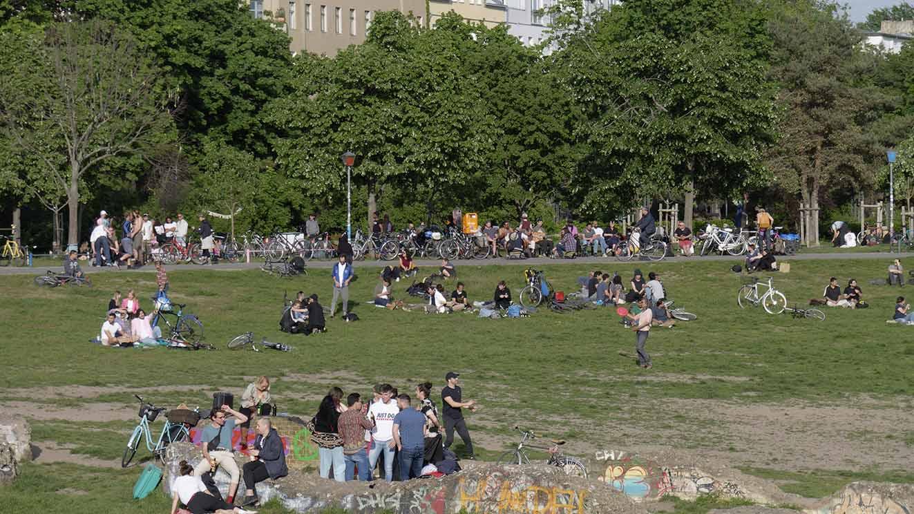 Berlin-Kreuzberg: Sport frei im Görlitzer Park