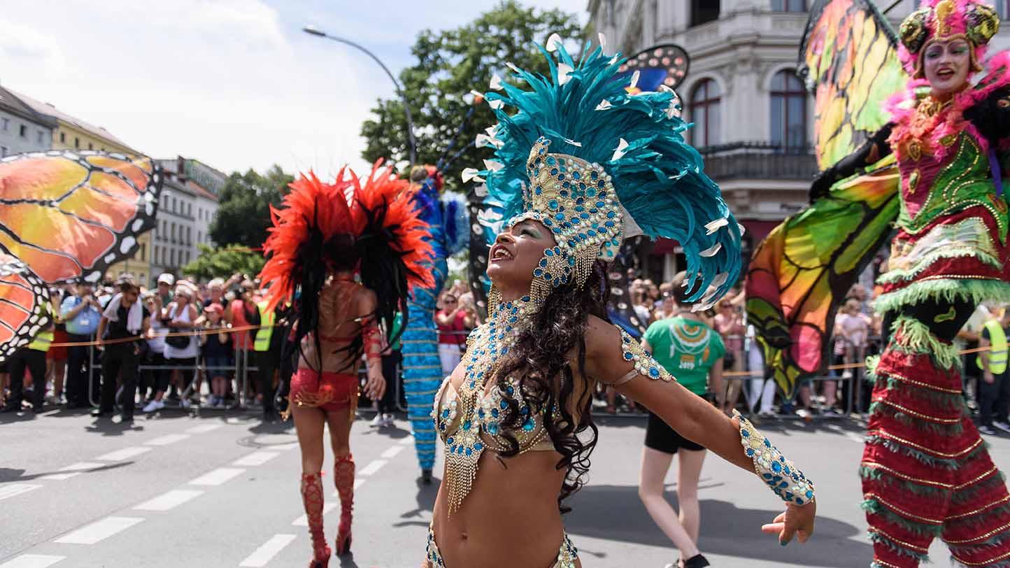 Kein Karneval der Kulturen im zweiten Pandemiejahr (hier: Karneval der Kulturen im Jahr 2019, Berlin)