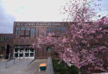Berliner Hochschulen unterrichten wieder in Präsenz. Hier: FU Berlin