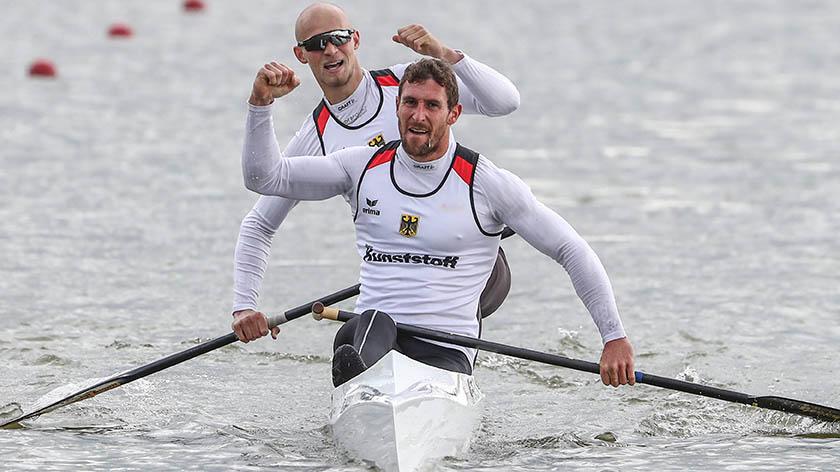 Olympische Spiele: Tim Hecker aus Berlin und Sebastian Brendel aus Potsdam wollen Gold.