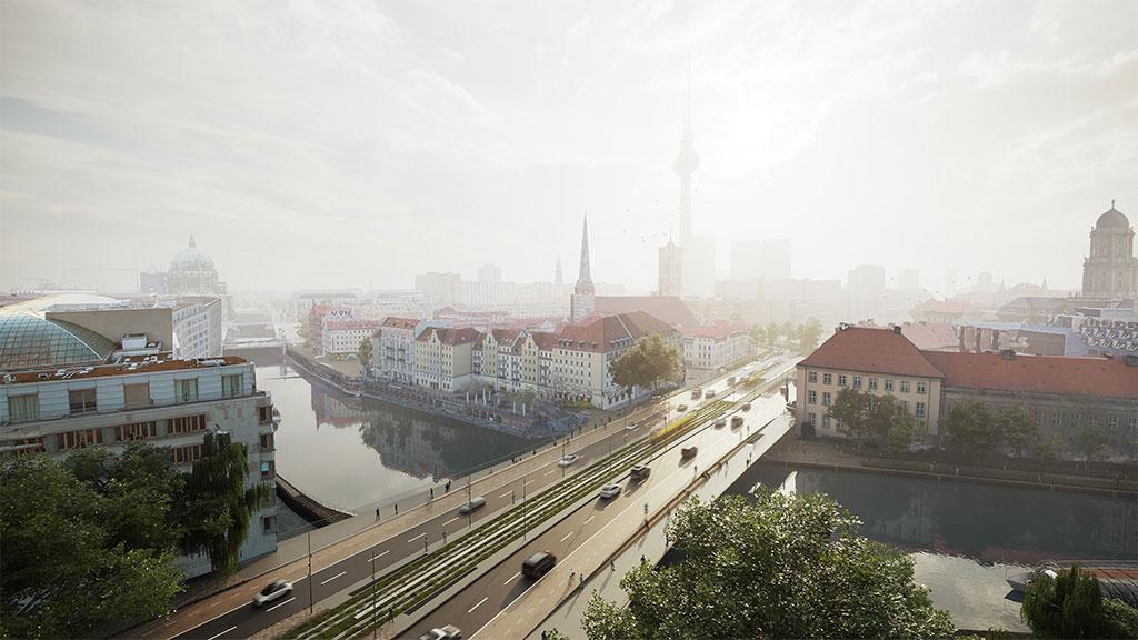 So soll die neue Mühlendammbrücke aussehen