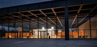 Neue Nationalgalerie vor Wiedereröffnung