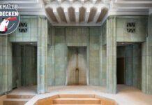 Das Stadtbad Lichtenberg wird zur Event- und Tanzfläche.