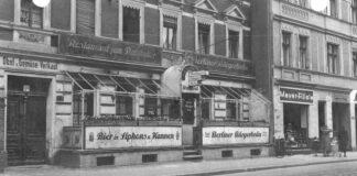 Das Restaurant Ratskeller an der Dörpfeldstraße war Ort für NS-Zwangsarbeit.