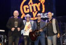 Die Band City plant ihre Abschiedstournee